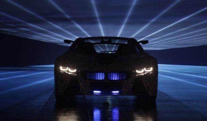Schon beim ersten Blickkontakt macht der BMW Vision Efficient Dynamics klar, dass er kein gewöhnlicher Spritsparer ist.