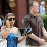 Wayne Rooney und seine Frau Coleen