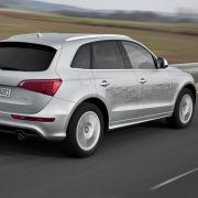 Bis zu drei Kilometer weit kommt Audis erster Hybrid im rein elektrischen Betrieb.