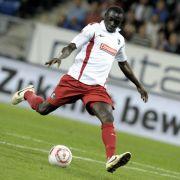 Er trifft, und trifft, und trifft: Freiburgs Torjäger Papiss Demba Cissé erzielte gegen Hoffenheim seinen vierten Saisontreffer.