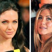Anglina Jolie und Jennifer Aniston