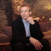 Ar5beitsloser Jürgen Klinsmann
