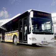 Hybridbusse sind bereits in mehreren Städten unterwegs ...
