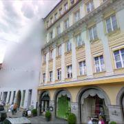 Die verpixelte Google-Zentrale inMünchen.