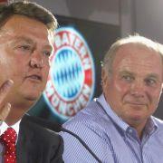 Zwei sehr gute, aber durchaus auch schwierige Chef: Louis van Gaal und Uli Hoeneß.