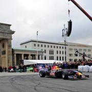 Road Show im Herzen Berlins.