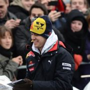 Formel1-Weltmeister Sebastian Vettel zu Gast in Berlin.