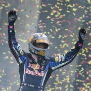 Ließ sich in Berlin feiern: Sebastian Vettel.