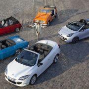 Aktuell gibt es zwei Cabriolets im Renault-Programm: den Mégane CC und den kleinen Roadster Wind.