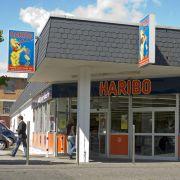 Da kommen Naschkatzen auf ihre Kosten: Haribo bietet im hauseigenen Werksverkauf in Bonn alles was das Fruchtgummiliebhaberherz begehrt.