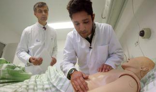 Medizinstudenten in der Ausbildung (Foto)