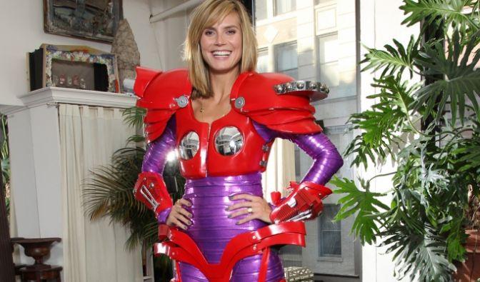 Heidi Klum als Transformer (Foto)