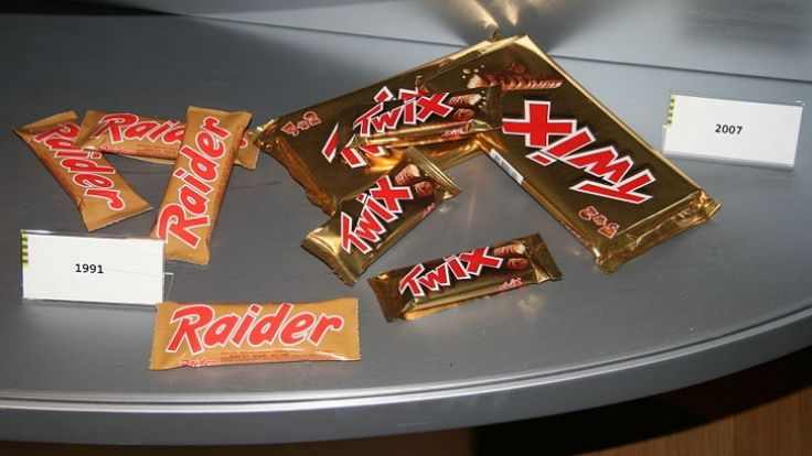 Raider und Twix (Foto)