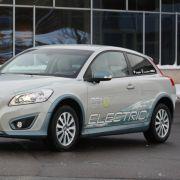 Zweites Puzzelteil im Reduktionsszenario ist ein Volvo C30 mit Elektromotor, ...