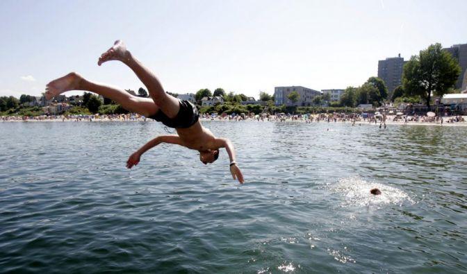 Sicherer Badeurlaub (Foto)