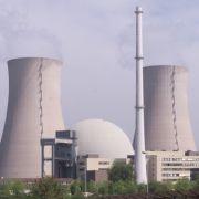 Das Kernkraftwerk Grohnde.