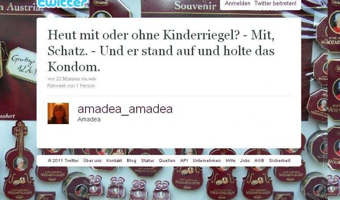 Tweet (Foto)