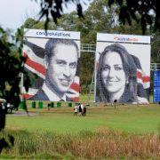 Über 15 000 Steine für William und Kate