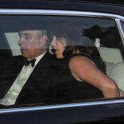 Prinz Andrew und Eugenie