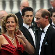 Prinz Edward und Herzogin Sophie am Vorabend der Hochzeit.