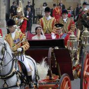 Prinz William und seine Ehefrau Kate
