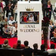 Public Viewing zur Hochzeit von William und Kate