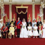 Die königliche Familie und die Middletons