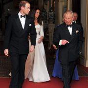 William, Kate und Charles