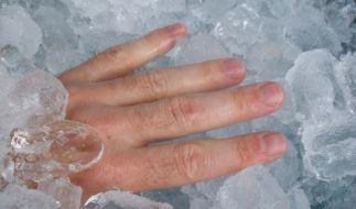 Coole Lösung! Bei Quetschungen ist Kühlung die effektivste Therapie. (Foto)