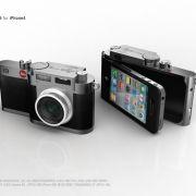 Ein Konzept der kalifornischen Black Design Association (Blackda) kombiniert das iPhone 4 mit einer Leica-Kamera.