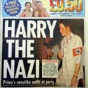 Prinz Harry auf dem Titelbild der englischen Sun.