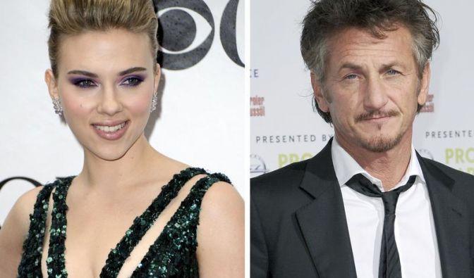 Scarlett Johansson und Sean Penn