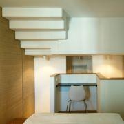 Neben der Literatur wartet das Wedina auch mit einer außergewöhnlichen Architektur und Inneneinrichtung auf seine Gäste. Es dominieren Holz, Glas, Granit und Beton.
