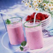 Erfrischender Vitaminspender: Himbeersmoothie.