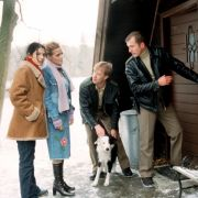 Ja, auch der WDR hatte einen Polizeiruf. Von 1995 bis 2004 ermittelten Kalle Küppers (Oliver Stritzel, 2. von rechts) und Siggi Möller (Martin Lindow, rechts) im Bergischen Land.