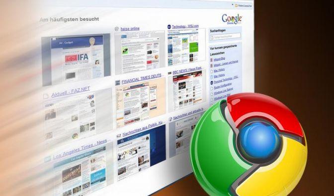 Googles Browser Chrome geht in Version neun (Foto)