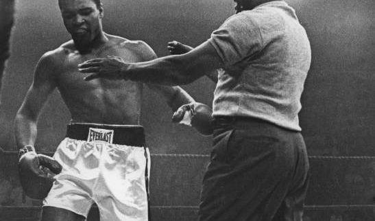 Muhammad Ali vs. Sonny Liston, 25. Mai 1965, Lewistown (USA):