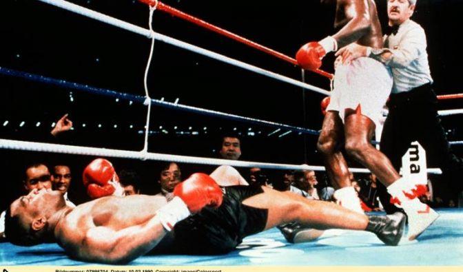Mike Tyson vs. Buster Douglas, 11. Februar 1990, Tokio (Japan)