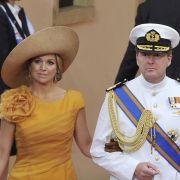 Willem-Alexander und seine Frau Máxima