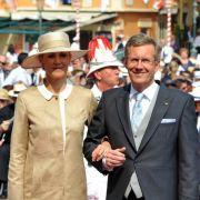 Wulff gratuliert zur Monaco-Hochzeit