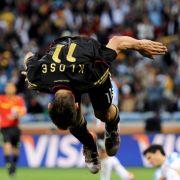 Macht seine Salti für Deutschland: Miroslav Klose