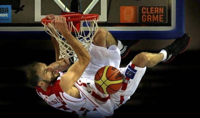 Basketball-EM (Foto)