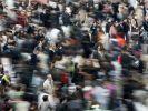 Menschenmassen in Tokio: Täglich wächst die Bevölkerung um eine Viertelmillion. (Foto)