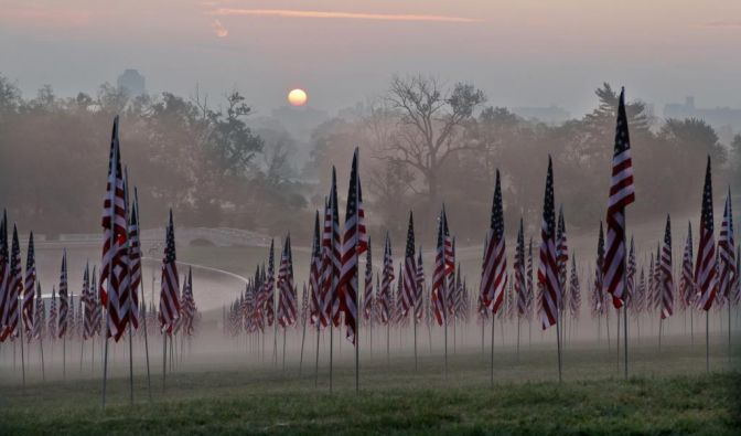 Gedenken an den 11. September (Foto)