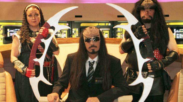 Klingonen-Ausstellung (Foto)