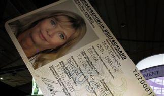 Der neue Personalausweis (Foto)