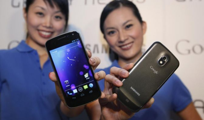 Samsung Galaxy Nexus (Foto)