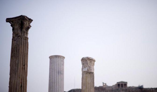 Athen in Zeiten der Krise (Foto)