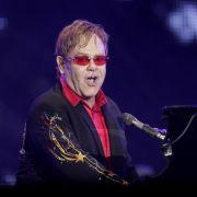 British singer Elton John performs at the Rock in Rio music festival in Rio de Janeiro, Brazil, Frid