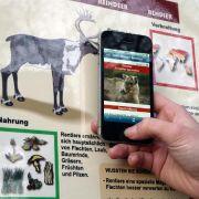 Die Besucher des Osnabrücker Zoos können mit ihrem Smartphone die QR-Codes an den Tiertafeln scannen und so alles Wissenwerte über die Tiere auf ihrem Telefon ablesen.
